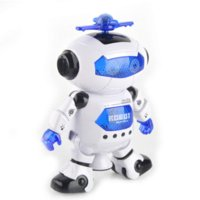 Wholesale wonderful high quality Smart Space Dance Robot Electronic Walking Toys With Music Light Gift For Kids Astronaut play to Child