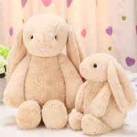 Wholesale Bunny plush toy cute soft and healthy child gift bed toy room decoration toy childrenNursery Decor