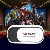 Wholesale 2016 Hot Selling Virtual Reality Glasses Case Plastic Google Cardboard D VR BOX Adjustable D VR