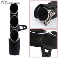 Wholesale Black Motorcycle Exhaust Muffler Silencer For Yamaha R6 Supersport Exhaust Pipe Three Holes