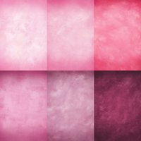 Wholesale Custom X8FT Pink Cloudy Solid Colors Studio Photography Backdrop For Wedding Photos Props Camera Digital Vinyl Background Backdrops