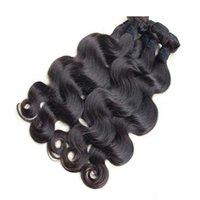 al por mayor pelo de la india calidad-El pelo brasileño de la onda del cuerpo de pelo teje la alta calidad 8A Envío libre Trama camboyana india malasia peruana del pelo
