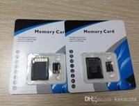 Wholesale 128GB Micro SD TF Memory Card Class With Adapter gb Class TF Memory Cards with Free SD Adapter Retail Package