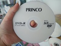 Wholesale High quality blank DVD R disk raw material double layer silver plated GB min up to X speed cm carton