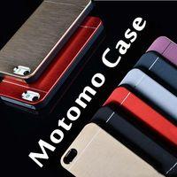 Cheap For HTC MOTOMO aluminum protect case Best Metal Blue for samsung s6 motomo case