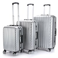 Wholesale Brand New Men and Women Fashion Business Trolley Rolling Luggages Bags Travel Suitcases SpinnerUniversal Wheels Carry Ons Luggage Hardside