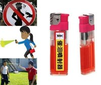 Wholesale Hot Sell lighter Self Defense Device Personal Security ML Pepper Spray Women Men defender defensive perfume sprayer Free Scarf
