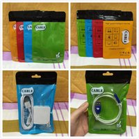 Wholesale New Arrival Travel Charger USB Cable Plastic Poly OPP Packing Zipper Zip lock Retail Packages Retail OPP Bag