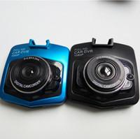 Cámaras de guión recuadro negro España-2017-50PCS Nuevo mini dvr auto de la cámara del dvr del coche hd lleno 1080p que estaciona la videocámara video del registrador de la videocámara registrator2.4 de la visión nocturna cámara negra de la rociada