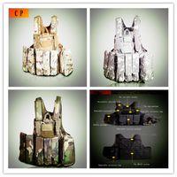 Wholesale Ghost camouflage tactical vest CS amphibious module field protective equipment operational resistance vest