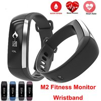 Android apple new monitor - 2017 New M2 Blood Pressure Wrist Watch Pulse Meter Monitor Cardiaco Smart Band Fitness Tracker Smartband Call SMS iOS Android Bracelet Mi