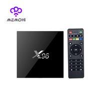 Wholesale 10PCS MEMOBOX G G X96 Android6 S905X TV BOX K Amlogic S905X Quad Core H Media Player KODI Marshmallow GHz Wifi Miracast Airplay