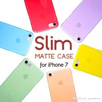 Wholesale 0 mm Ultra Thin Slim Matte Frosted Full Cover Transparent Clear Flexible Soft PP Cover Case Skin for iPhone Plus S inch