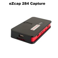 av mic - eZcap284 P HD Video Game Capture HDMI Recorder Card HDMI AV Ypbpr TV Video Recorder With Remote Control Support Mic USB Disk
