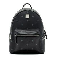 Wholesale 2017 Top brand new arrival Fashion punk rivet backpack school bag unisex backpack student bag travel STARK BACKPACK