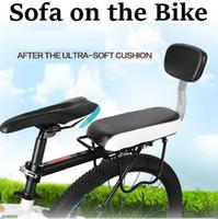 80kg adult folding chair - Travel Bike Saddle Adult Child Bicycle Comfortable Seat Children Men Women Travelling MTB Folding Bike Cushion Chair Set Pedal