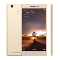 achat en gros de xiaomi phone-Original Xiaomi Redmi 3 Pro Prime 32Go ROM Mobile 4100mAh Batterie ID d'empreinte digitale Snapdragon 616 3 Go RAM 5.0