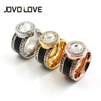 Wholesale Luxury Jewellery Rings Cool Fashion Big Crystal Rings With Many Zircon As Lady Christmas Gift Elegant Jewelry