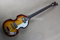 Wholesale Free shopping factory custom Top Quality factory custom hofner Violin string contemporary bass guitar
