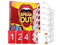 Wholesale HOT Speak Out Game KTV party game cards for Christmas Best gift Newest Best selling Cards