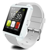 Wholesale Bluetooth Smartwatch U8 U Watch Smart Watch Wrist Watches for iPhone S S Samsung S4 S5 Note Note HTC Android Phone
