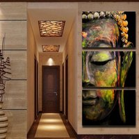 Wholesale Buddha Painting Wall Art Paintings Picture Paiting Canvas Paints Home Decor Printed Painting Wall Art Picture Unframed Pieces