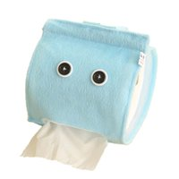 Wholesale Plush Cloth Tissue Box Case Holder Toilet Paper Cover bathroom office car restaurant Hanging paper towel tube