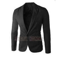 Wholesale New Spring Fashion Men s Leather Suit Casual Slim Fit Jackets Design Men s Quality Blazers Men Brand Men Dress Suits High Quality