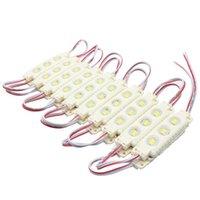 Wholesale Super Bright Led Modules K Cool White SMD5630 SMD5050 RGB LED Chip Wateproof IP67 R G B Warm White V Led Advertising Light