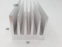 aluminum extrusion alloys - Very popular high quality and competitive price aluminum alloy heatsink extrusion high quality aluminum heat sink