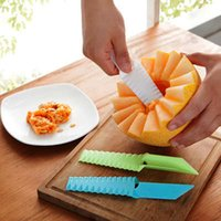 Wholesale 3 creative kitchen Multi function fruit and vegetable knife Potato sliced knife Cooking utensils