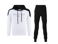 Wholesale B840996 Balmain mens tracksuits sweat suit