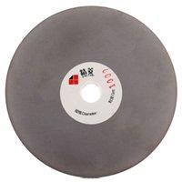 Rouleau de disque de broyage à fini de 125 mm Grit 1000 de 5 pouces Rouleau de disque à revêtement recouvert de disque plat Lapidary Tools pour aiguiser les lames de diamant Verre