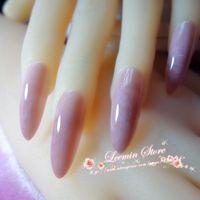 Wholesale Very long tip false nail marble series New