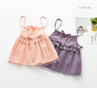 Robe princesse France-Sling baby sleeves sans manches Girls summer princess party tutu vêtements pour enfants 5AA610DS70 [Eleven Story]