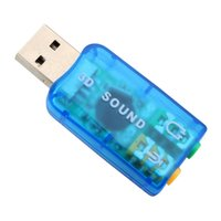 Wholesale USB Sound Card USB Audio External USB Sound Card Audio Adapter Mic Speaker Audio Interface For Laptop PC Micro Data