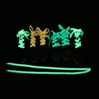 Wholesale Cheap fashion lace luminous products safety essential fluorescent shoelace Parkour color m package