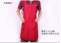 Wholesale Hairdressing work apron hairdressing assistant waterproofing overalls can be printed LOGO priced at direct