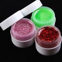 Nail Art Nail Gel Nouveau 36 Pots Shiny Cover Pure Colors UV Gel Nail Art Tips Glitter Gel Manucure Ensemble de bricolage