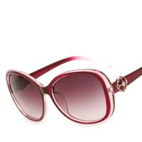achat en gros de cadre de définition-Actrice coréenne avec des lunettes de soleil Hot Full Frame Fleurs Diamants High-end Lunettes de soleil High-Definition Polarized Conduite Conduite Parasol
