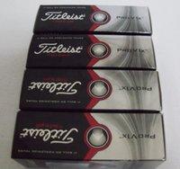 Wholesale DHL PRO V1 V1X golf ball balls golfballs Golf grip grips club clubs one dozen one box balls