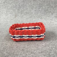 antique draw handles - Fashion pure color Durable Newest Basket Foldable Fruit And Vegetable Storage Basket Handle Design High Quality PP Material Storage Baskets