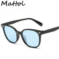 best brand eyeglasses - Mattol Johnny Depp best love Sunglasses vintage Rivets Eyeglasses women man brand Design glasses retro gafas oculos de sol