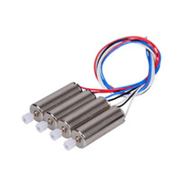 Stepper Motor ac motor gear - 4PCS Motor Vehic For SYMA X5C X5C X5 Motor With Whell Gear Engine A B Spear Parts Accessories For RC Drone Quadcopter