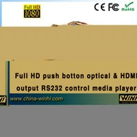 advertising buttons - Full HD Push Button in store Optical HDMI output RS232 Control video advertising Media player Guaranteed Manufacturer
