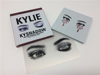 Wholesale IN Stock KyShadow the Bronze Burgundy Palette new arrival Kylie Jenner Cosmetics Eyeshadow High Quality