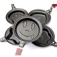 Wholesale 1 Lovely Egg Frying Pancakes Kitchen Pan with Stick Housewares Mini Pot DIY Types