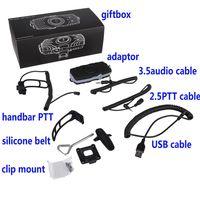 Wholesale MODI audio hub bluetooth adater for motorcycle Bluetooth headset to connect way radio work with SENA cardo vimoto brand Bluetooth intercom
