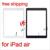 Wholesale For iPad Air iPad Digitizer Assembly Touch Screen Home Button Flex Camera Holder Adhesive