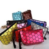 Wholesale New fashion Women Cosmetic bag Lady PU Leather Handbag Messenger Shoulder Purse Satchel Crossbody Bags A0435